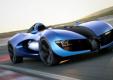 Проект одноместного концепта Bugatti TypeZero