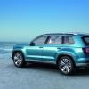 Новый концепт кроссовера VW CrossBlue нацелен на Ford Explorer