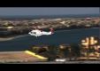 Вертолет доставляет Aston Martin в отель Дубая