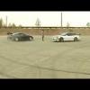 Во время дрифта Toyota Supra сбивает девушку