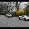 Заезд суперкаров в Англии по дорогам общего пользования