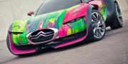 Фото Citroen Survolt Concept Art Car 2010