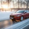 Любуемся новой Mazda6 на дорогах заснеженной Сибири