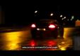 Обновленный Porsche Panamera был замечен ночью на улице