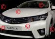 Опубликованы шпионские изображения новой Toyota Corolla.