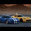 Заезд Viper GTS 2013 против Viper GTS 1997 года