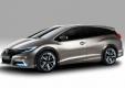 Анонс концепта нового Honda Civic универсал в Женеве
