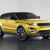 Фото Land Rover Range Rover Evoque coupe sicilian yellow 2013