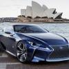 Фото Lexus LF lc blue concept 2012