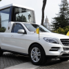 Фото Mercedes m-klasse ml popemobile 2012