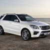 Фото Mercedes ml-350 bluetec amg sports package w166 uk 2012