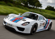Фото Porsche 918 spyder prototype martini racing design 2012