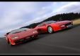 Заезд Lamborghini Countach 25th Anniversary против Ferrari 512TR