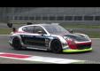 Гоночный Porsche Panamera гоночный с ярким саундтраком V8