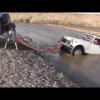 Как утопить Ниву и оторвать ей бампер
