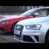 Крис Харрис тест-драйвом доказывает силу Audi S4 над RS4