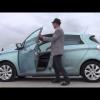 Новый электромобиль Renault Zoe