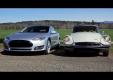 Прошлого против будущего с классическим Citroen DS против Tesla Model S