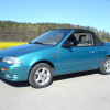 Фото Suzuki swift cabriolet 1992-1995