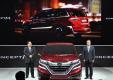 Honda показала новый минивэн китайским покупателями в Шанхае