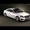 3D модель 2014 Mercedes-Benz S-класса