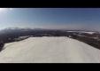 Автомобили сбросили на парашюте с самолета