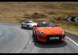 Два видео сравнения Jaguar F-Type против Porsche 911 Cabriolet