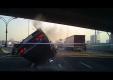 Еще одна сумасшедшая автокатастрофа на шоссе