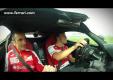 Фернандо Алонсо тестирует новую LaFerrari V12 на треке в Фиорано