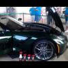 GM показывает офф Lime Rock зеленый Corvette Stingray 2014