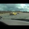 Гонки Volvo S40 T4 с Lamborghini Gallardo