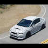 Тайное тестирование прототипа 2015 Subaru WRX