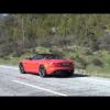 Тест драйв нового Jaguar F-Type Roadster в Испании