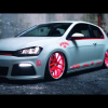 Volkswagen Golf Mk7 светится в темноте