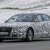 Audi продолжает тестирование новой модели A8 Luxury Sedan 2014
