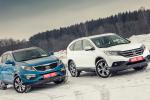 Выясняем, для чего лучше подходят Honda CR-V и Kia Sportage