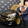 Роберто Кавалли  представил Pimped Mini Paceman на благотворительном балу Life Ball