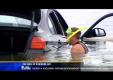 Водитель направил новый BMW прямо в воду, чтобы объехать белку