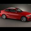 3d модель нового купе BMW 2-й серии