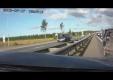 Авария в пробке на шоссе