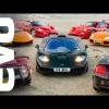 EVO сравнивает McLaren F1 с суперкарами из прошлого