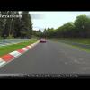 Фернандо Алонсо дает интервью во время вождения Ferrari F12berlinetta на кольце