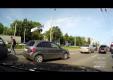 Hyundai Gets сбивает мотоциклиста