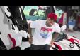 Крис Браун попросил покрасить Lamborghini Aventador в цвет кроссовок Nike