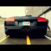 Lamborghini Murcielago LP640 на обочине