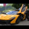 McLaren P1 потребовалась помощь на Concorso d'Eleganza