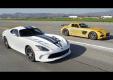 Mercedes SLS AMG Black Series и SRT Viper в тестовом MT