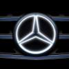 Mercedes делает новое обновление в своих моделях — подсветка логотипа