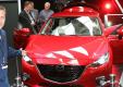 Прогулка вокруг нового хэтчбека Mazda3 2014 года в новом видео