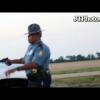 Полицейский достал пистолет, чтобы остановить роскошные и экзотические автомобили!
